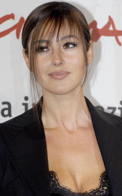 Monica Bellucci at a photocall for
