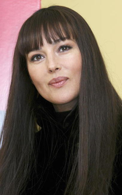 Monica Bellucci at a photocall in Rome for