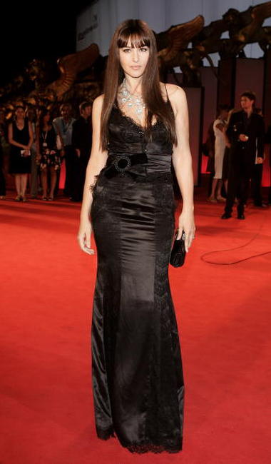 Monica Bellucci at the premiere of