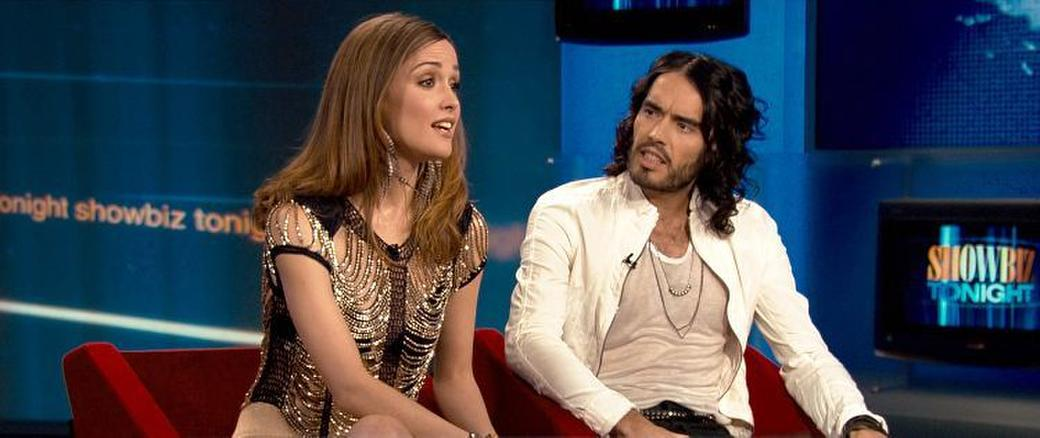 Rose Byrne as Jackie Qin and Russell Brand as Aldous in