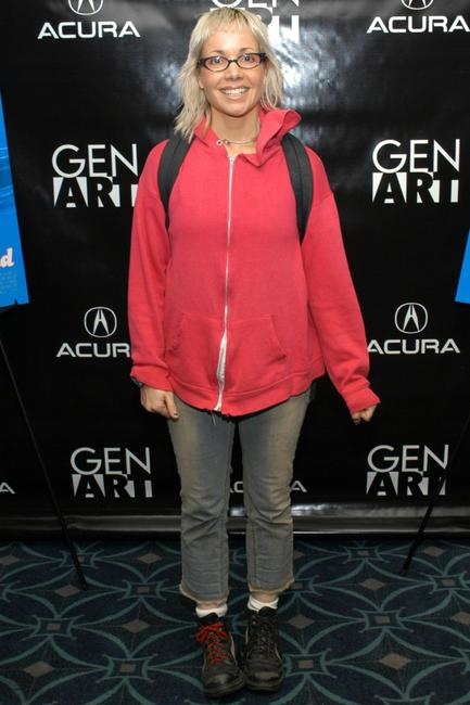 Janeane Garofalo at the GENART Screening of