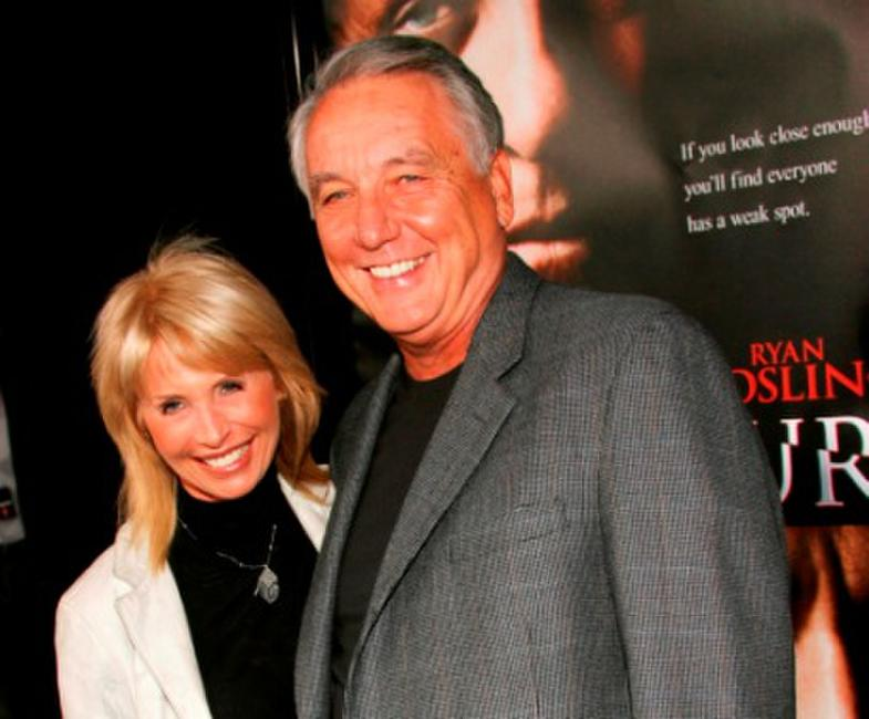 Bob Gunton and Guest at the premiere of