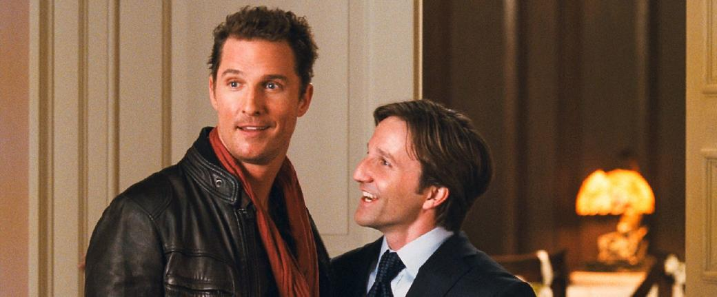 Matthew Mcconaughey as Connor Mead and Breckin Meyer as Paul in
