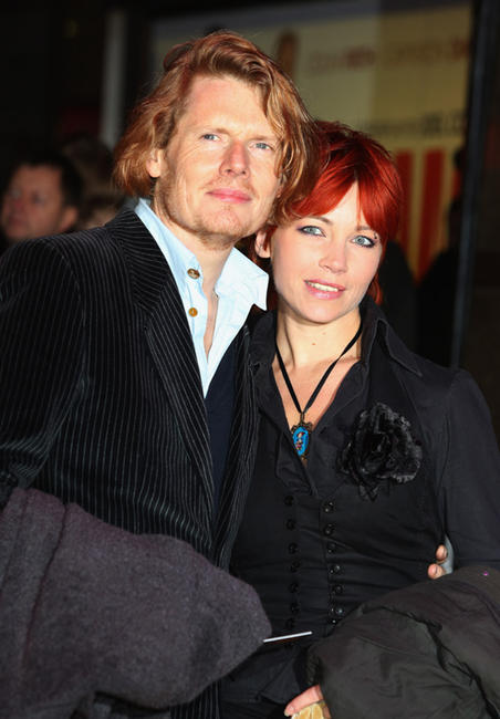 Julian Rhind-Tutt and guest at the World premiere of