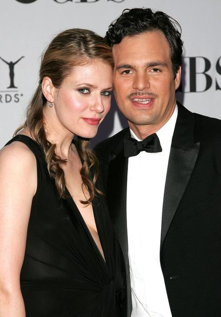 Mark Ruffalo and his wife Sunrise Coigney at the 60th Annual Tony Awards.