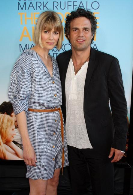 Sunrise Coigney and Mark Ruffalo at the California premiere of