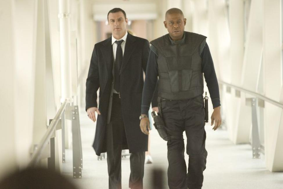 Liev Schreiber and Forest Whitaker in