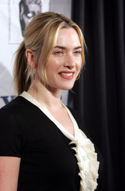 Kate Winslet at the BAFTA/LAs Awards season tea party.