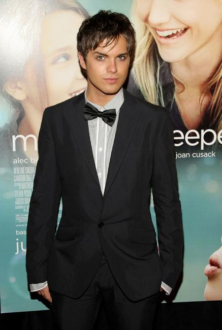 Thomas Dekker at the premiere of