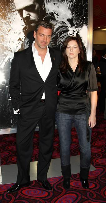 Ray Stevenson and director Lexi Alexander at the screening of