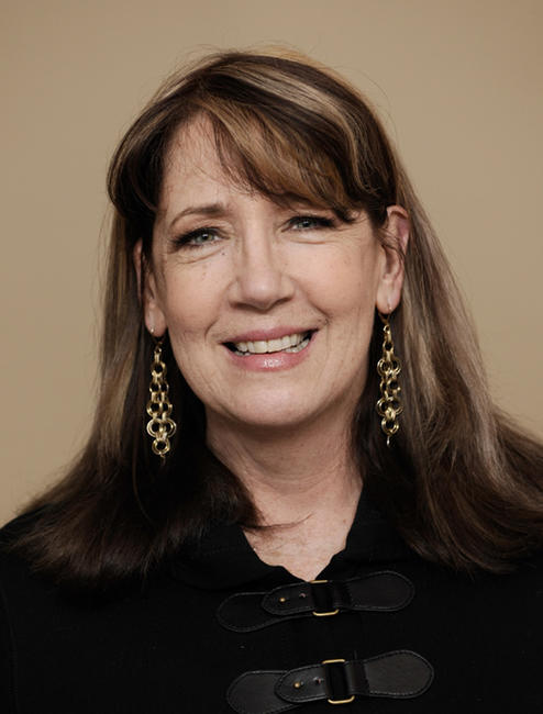 Ann Dowd at the portrait session of