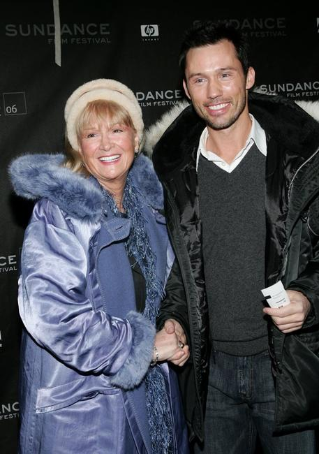 Diane Ladd and Jeffrey Donovan at the premiere of