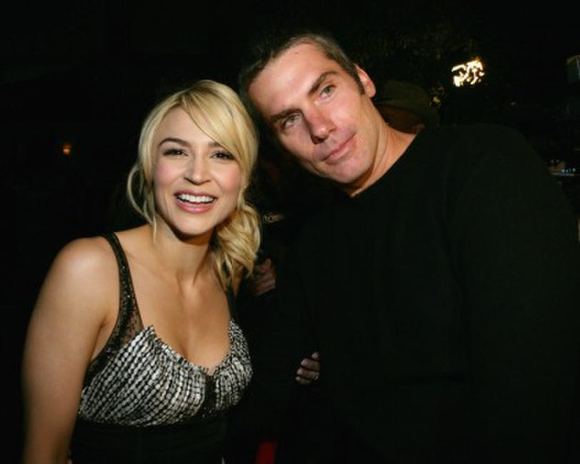 Samaire Armstrong and Glenn Fitzgerald Hollywood premiere of