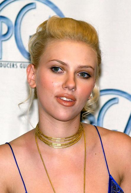 Scarlett Johansson at the 15th Annual Producers Guild Awards.