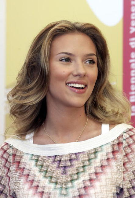 Scarlett Johansson at a photocall of