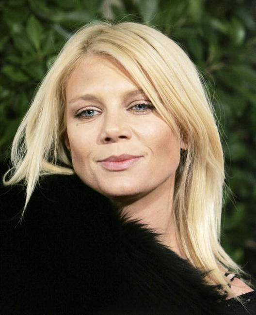 Peta Wilson at the celebration of Warner Home Video.