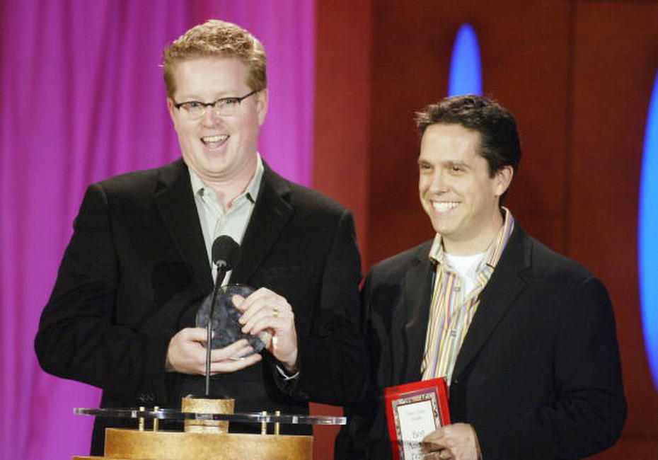 Andrew Stanton and Lee Unkrich at the 9th Annual Critics' Choice Awards gala.