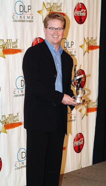 Andrew Stanton at the final night banquet for ShoWest 2004.