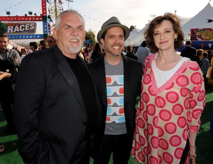 John Ratzenberger, Lee Unkrich and Joan Cusack at the after party of the premiere of
