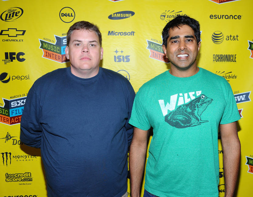 Kevin Heffernan and director Jay Chandrasekhar at the premiere of