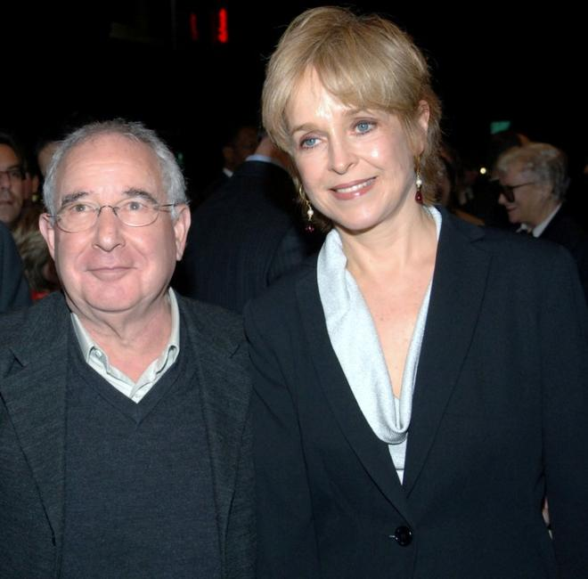 Michael Tucker and Jill Eikenberry at the opening of