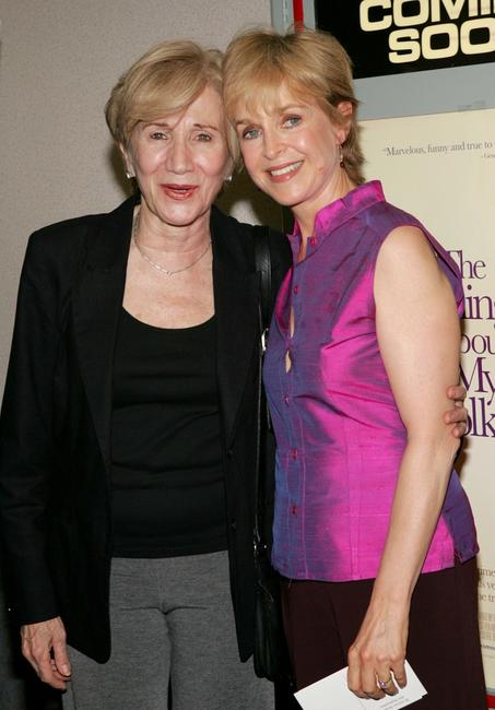 Jill Eikenberry and Olympia Dukakis at the premiere of