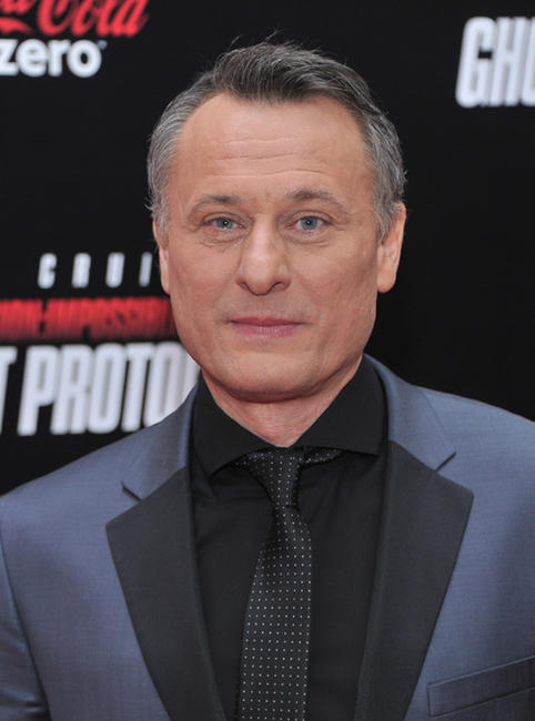 Michael Nyqvist at the New York premiere of