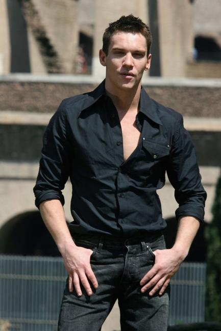 Jonathan Rhys-Meyers at Rome for the world premiere of