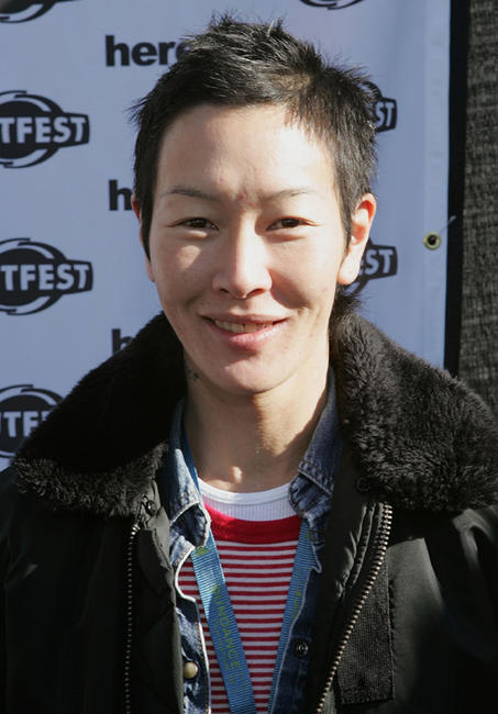 Jenny Shimizu at the Sundance Outfest Queer Brunch during the 2006 Sundance Film Festival.