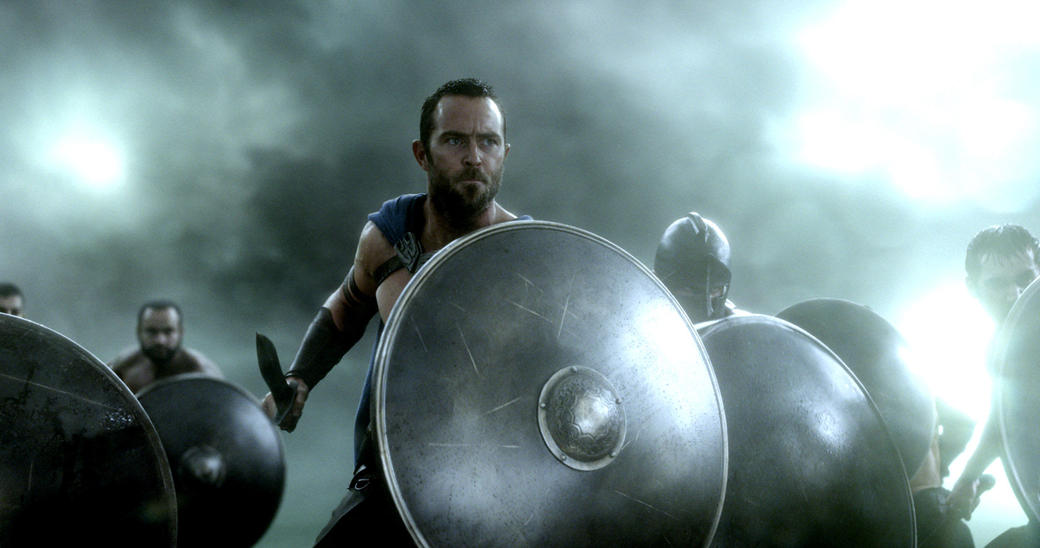 Sullivan Stapleton as Themistokles in