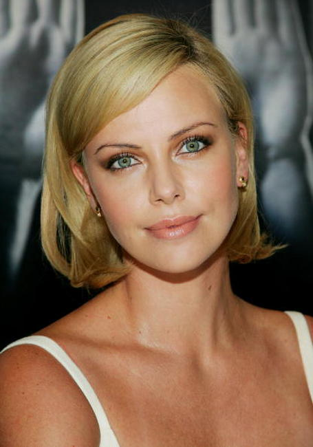 Charlize Theron at the TIFF press conference for