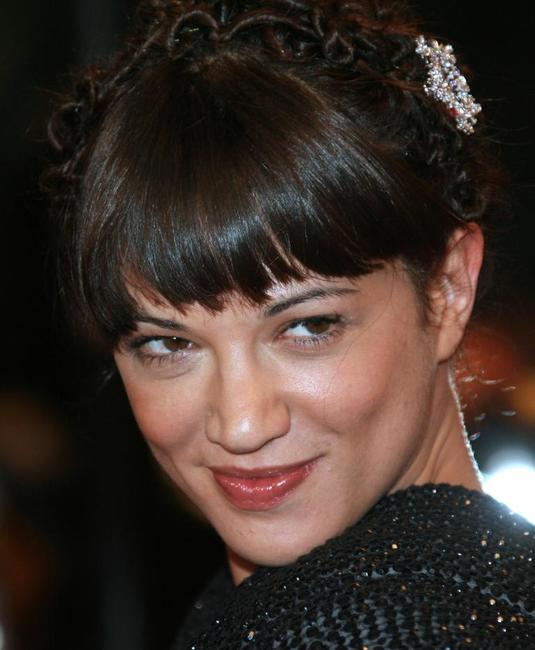 Asia Argento at the screening of