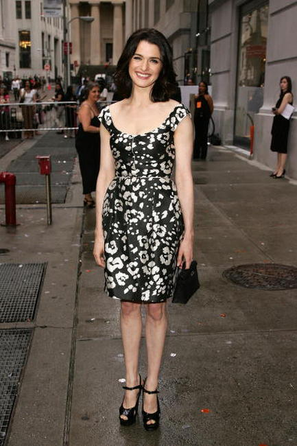 Rachel Weisz at the opening of the Hermes store in N.Y.