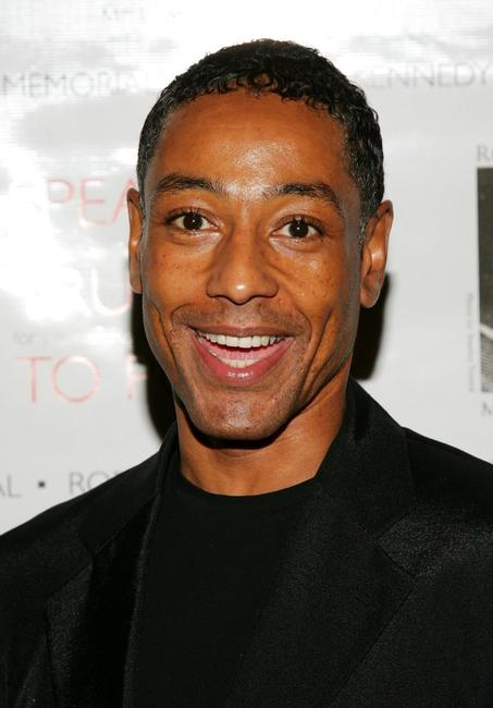 Giancarlo Esposito at the speak truth to power memorial benefit gala.