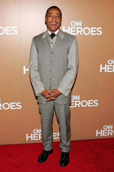 Giancarlo Esposito at the CNN Heroes: an all-star tribute at the American museum of natural history.
