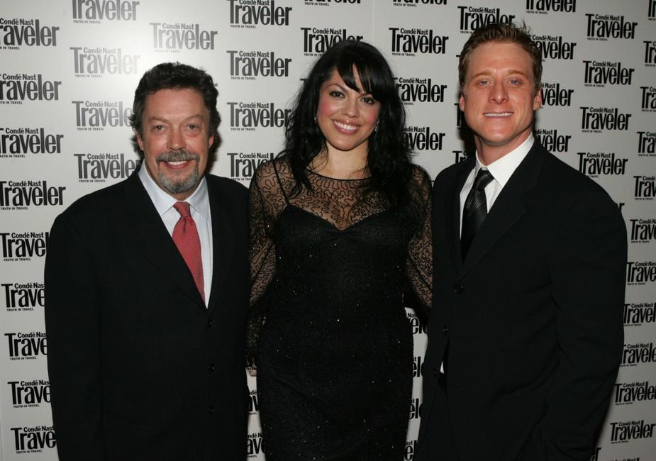Tim Curry, Sara Ramirez and Alan Tudyk at the Conde Nast Traveler's 18th Annual Readers Choice awards.