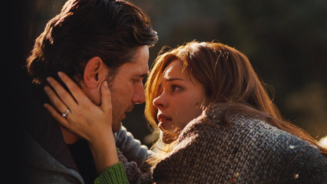 Eric Bana as Henry and Rachel McAdams as Clare Abshire in