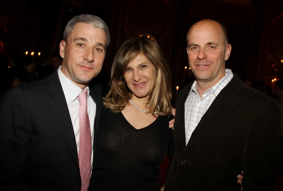 Matt Tolmach, Amy Pascal and Neal H. Moritz at the after party of