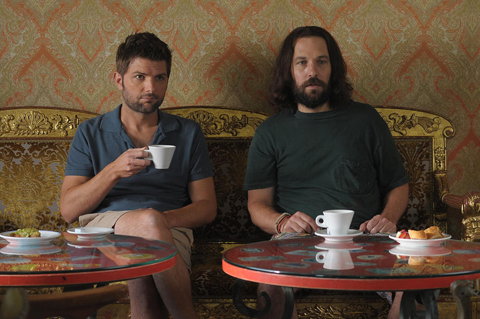 Adam Scott as Jeremy and Paul Rudd as Ned in