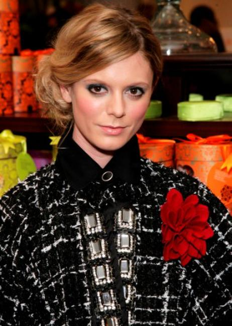 Emilia Fox at the pre-drinks party during the world premiere of