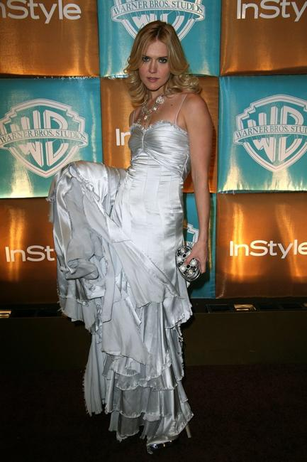 Dominique Swain at the In Style Magazine and Warner Bros. Studios Golden Globe After Party.