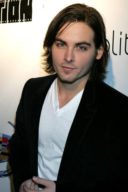 Kevin Zegers at the Reel Lounge Gala benefit for The Film Foundation.