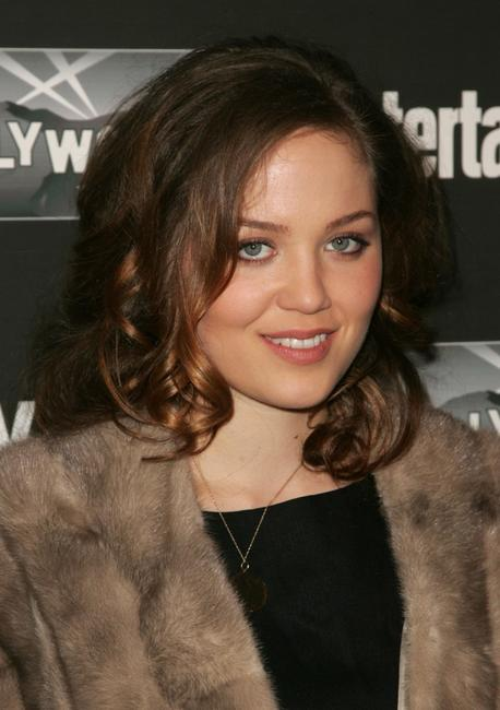 Erika Christensen at the Entertainment Weekly Academy Awards viewing party.