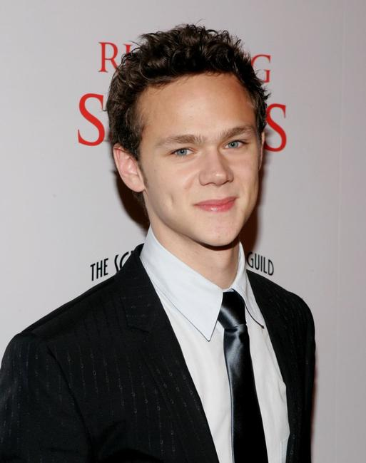 Joseph Cross at the world premiere of