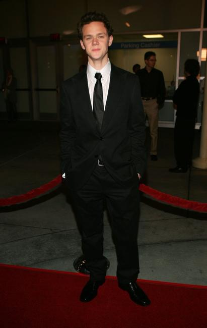Joseph Cross at the Los Angeles premiere of