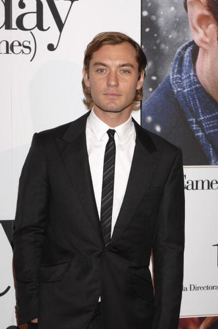 Jude Law at the Madrid premiere for
