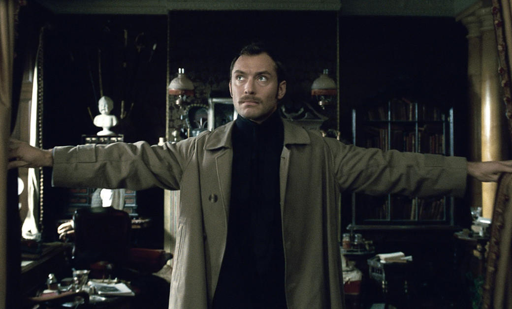 Jude Law as Dr. James Watson in