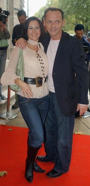 Angela Lonsdale and Perry Fenwick at the Tribute To Wendy Richard MBE.