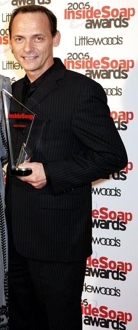 Perry Fenwick at the Inside Soap Awards 2006.