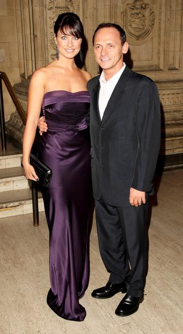 Emma Barton and Perry Fenwick at the National Television Awards 2007.